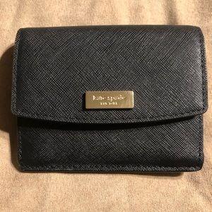 Like new Kate spade black wallet